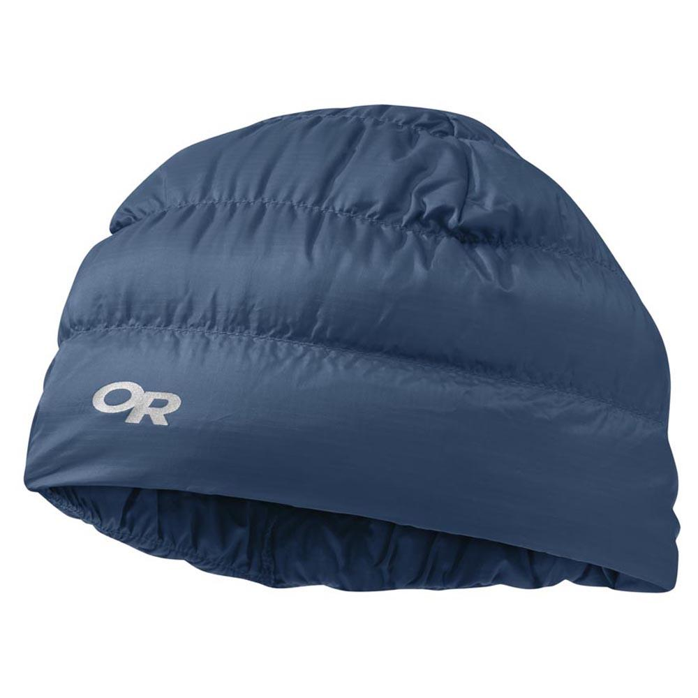 913c73c5796 Outdoor research Transcendent Down Beanie Blue