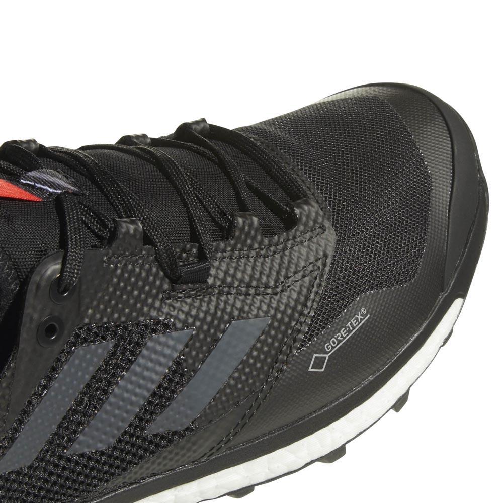 adidas Terrex Agravic XT GTX Scarpe per trail running Core Black Grey Five Hi Res Red | 7 (UK)