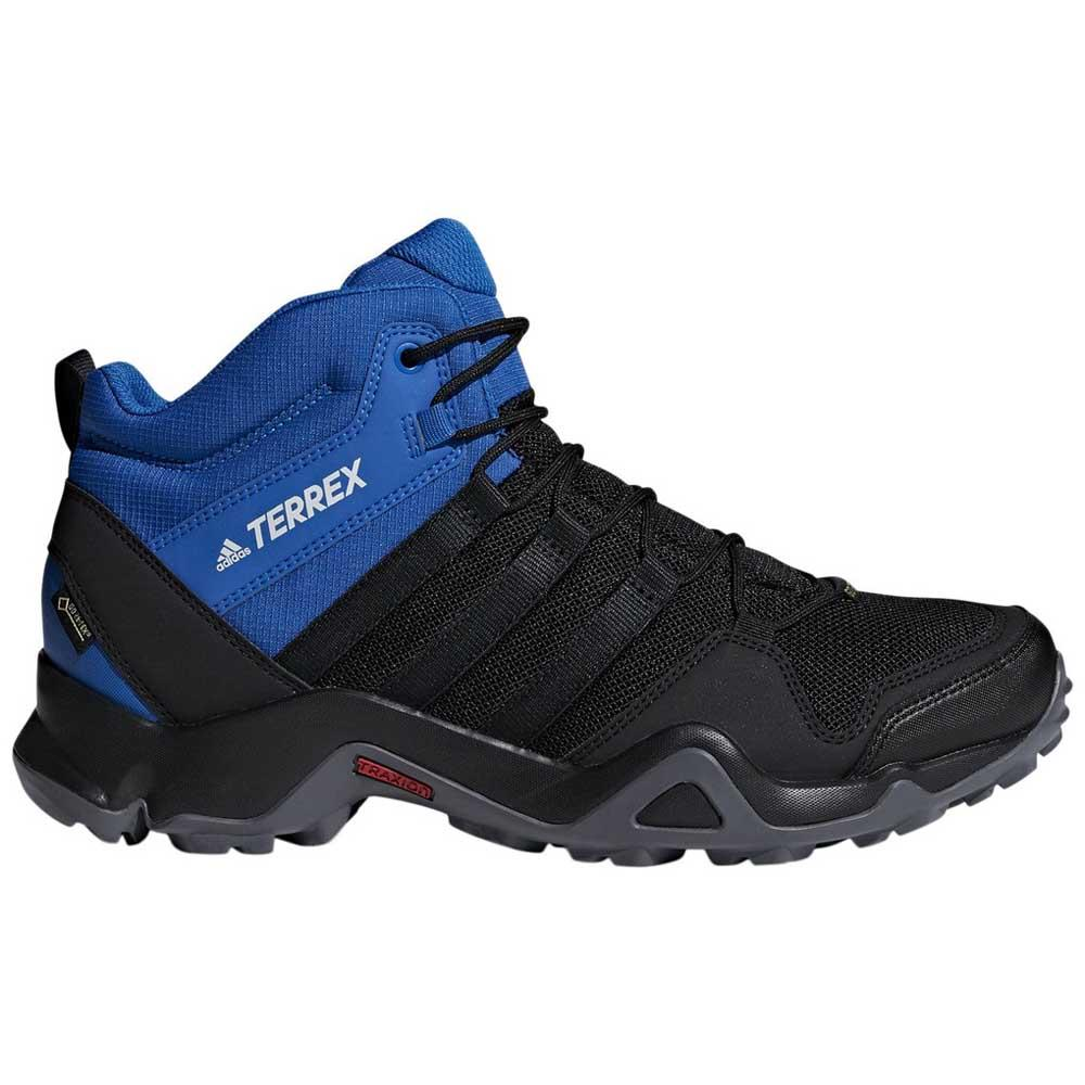 b6b6759a21466 adidas Terrex AX2R Mid Goretex Blue buy and offers on Trekkinn