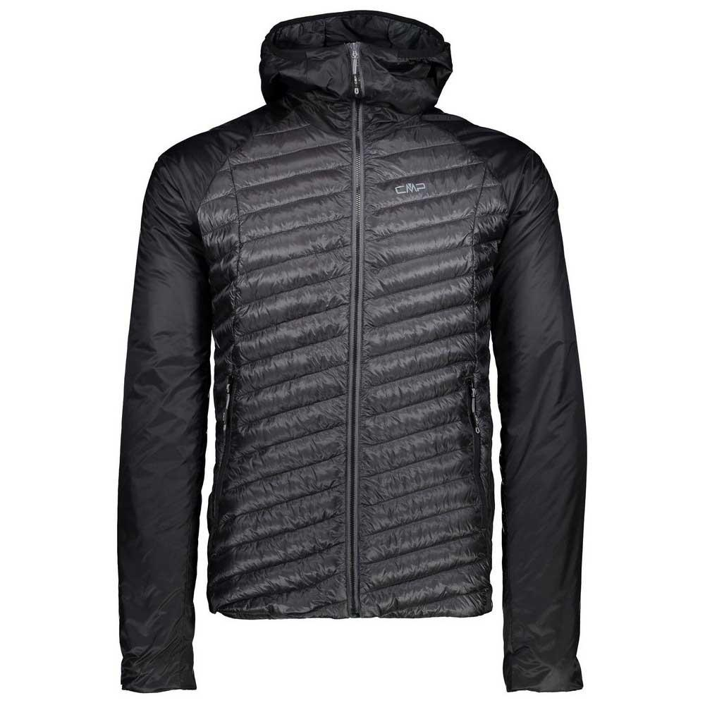 Cmp Man Jacket Zip Hood Preto comprar e ofertas na Trekkinn
