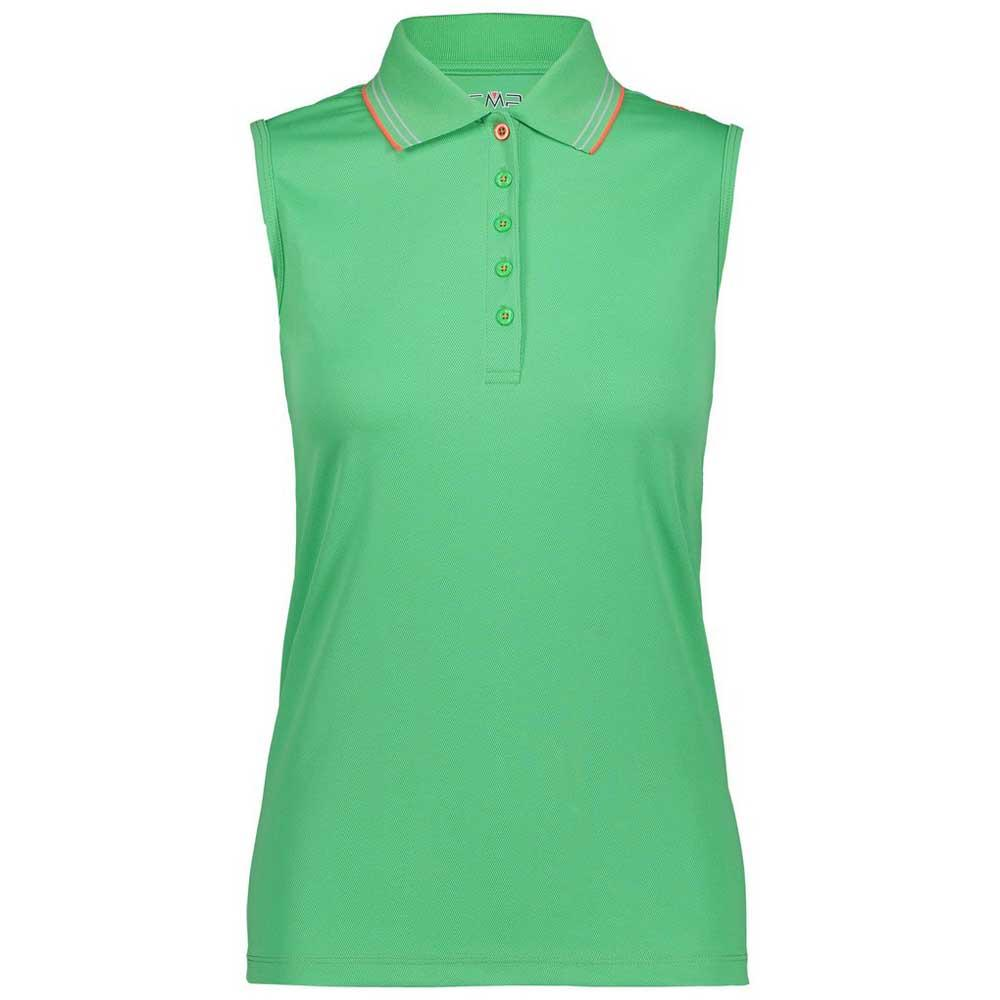 7f0a54d9cb307 Cmp Sleeveless Polo Green Tea buy and offers on Trekkinn