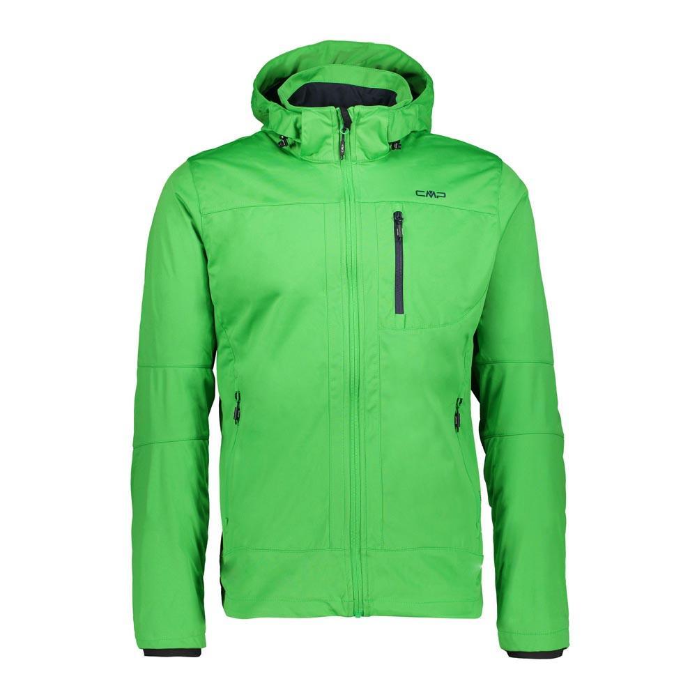 de9024a935d6 Cmp Man Zip Hood Jacket Green buy and offers on Trekkinn