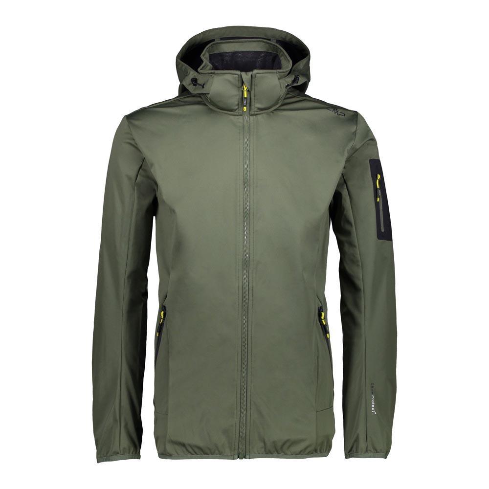 f4962beac7c Cmp Man Zip Hood Jacket Green buy and offers on Trekkinn