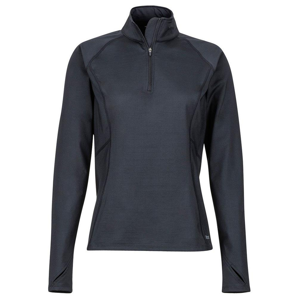 d01a8293804b Marmot Heavyweight Nicole 1/2 Zip Black, Trekkinn