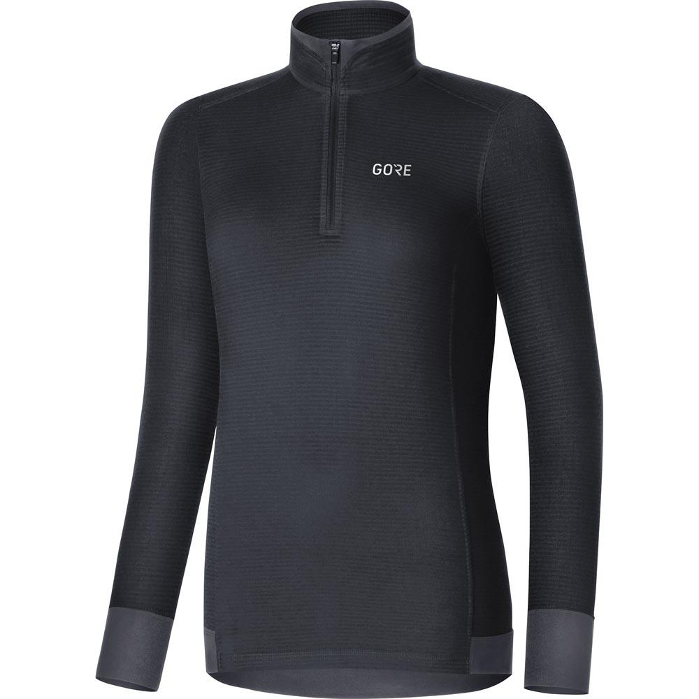 dcafa91a GORE® Wear Thermo Shirt Light Svart kjøp og tilbud, Trekkinn