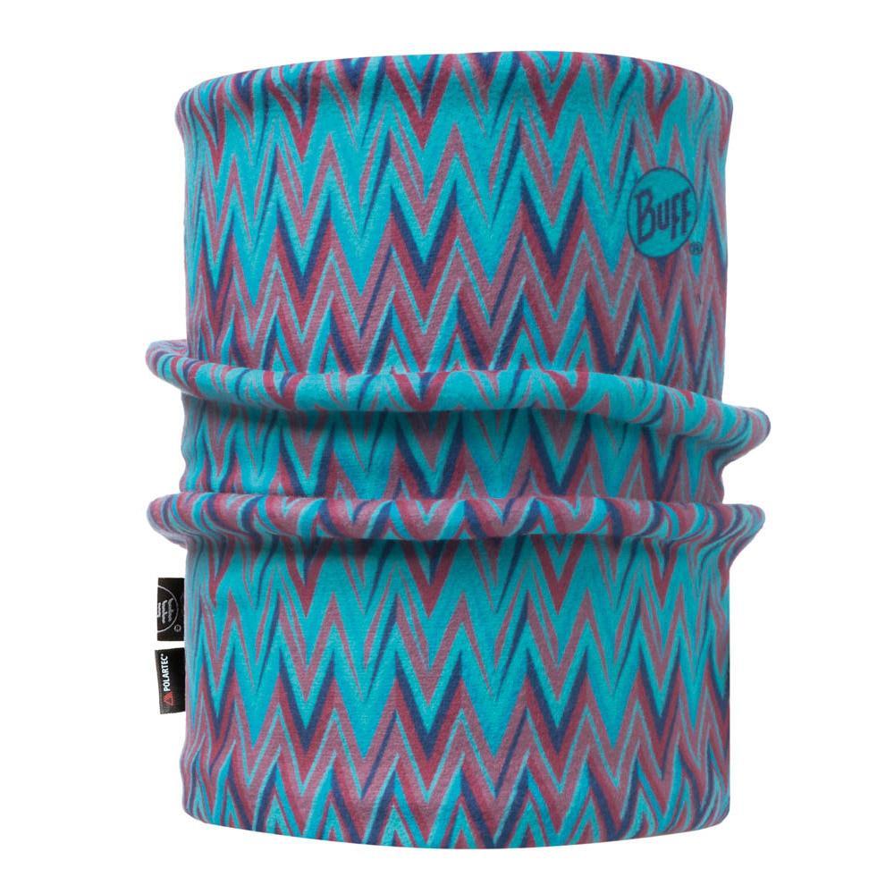 Buff Kids Ziggy Jnr Reversible Polar Neckwarmer Blue Capri One Size