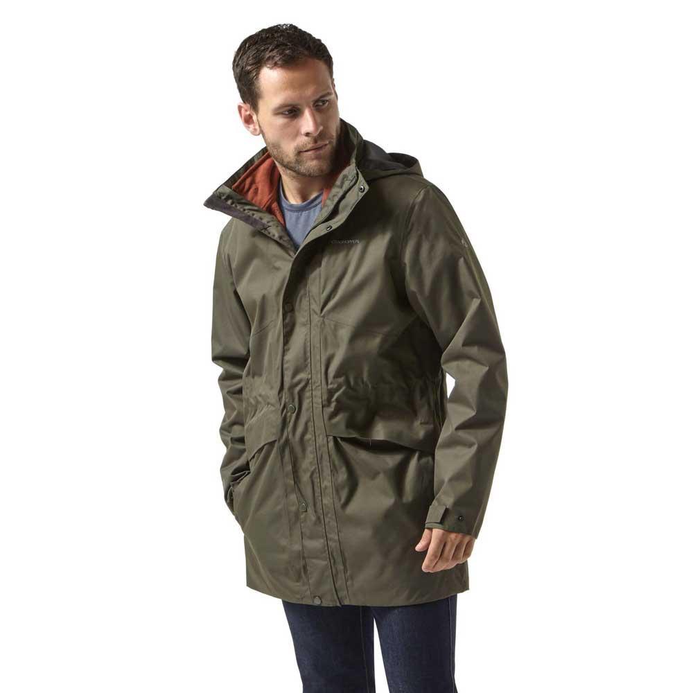 Craghoppers Herston Mens 3 in 1 Aquadry Waterproof Jacket with Inner Fleece