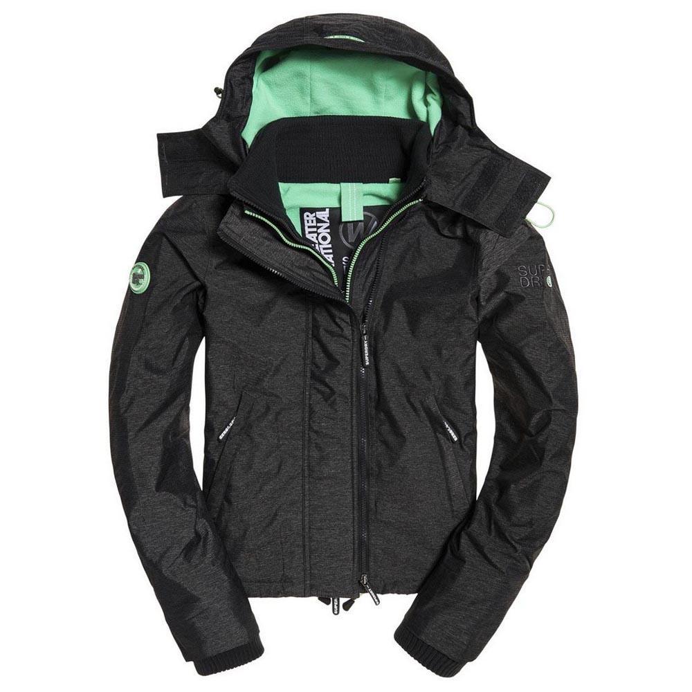 4f739a29 Superdry Arctic Hoodie Pop Zip Black buy and offers on Trekkinn