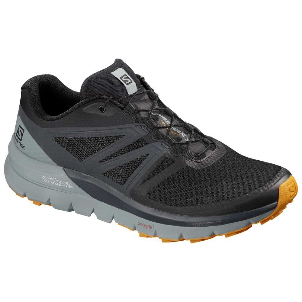 Zapatillas Salomon Sense Max 2 EU 44 Black / Lead / Flame Orange