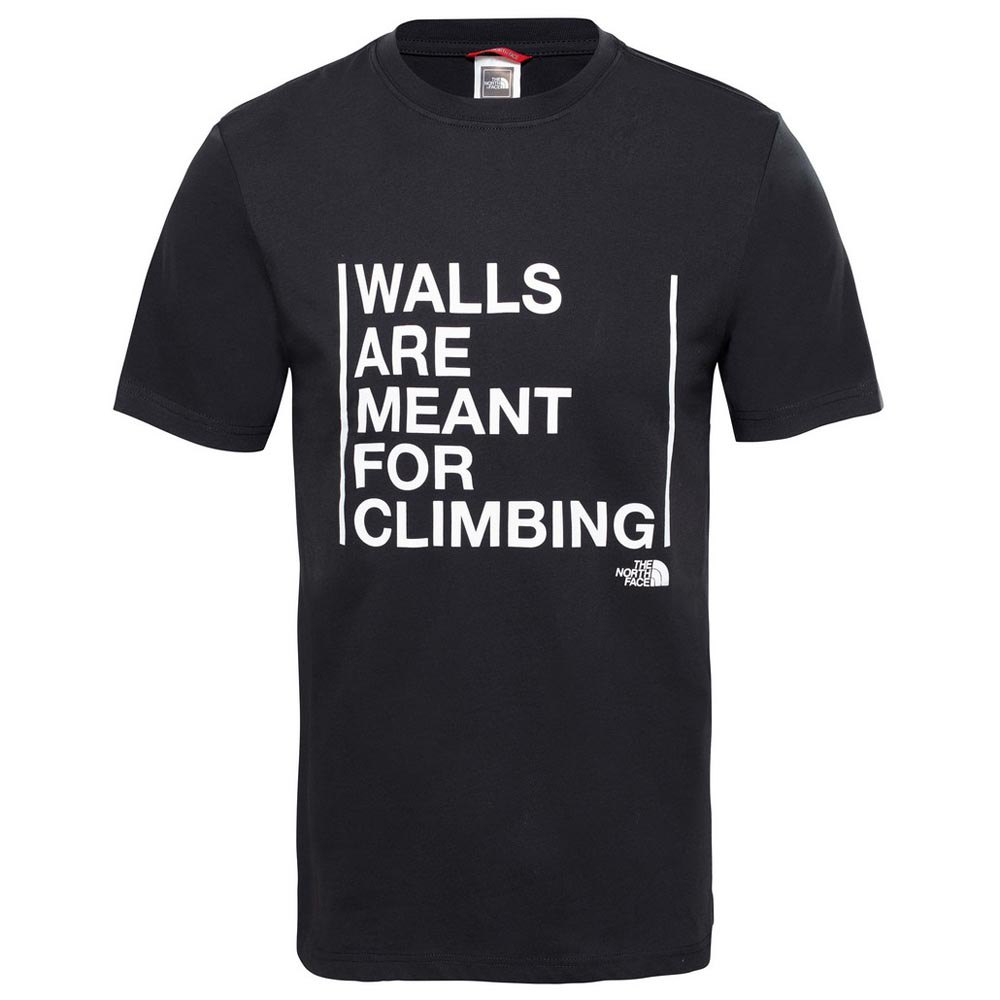 The north face Walls Are For Climbing S/S