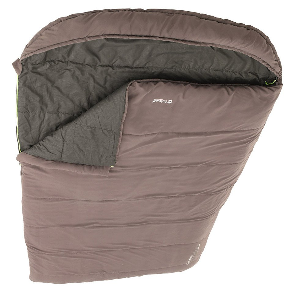 Outwell Campion Lux Double Sleeping Bag Brown