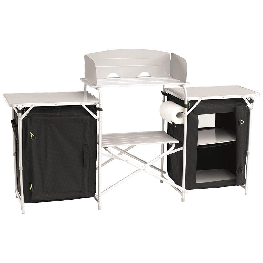 Outwell camrose kitchen table preto trekkinn for Mobilia kitchen table