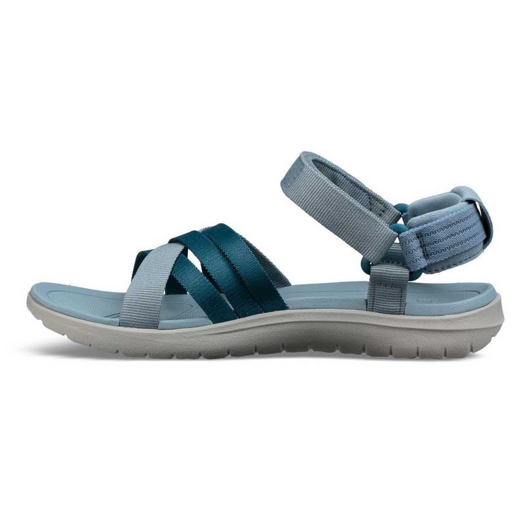90c5d47b7ce1 Teva Sanborn Sandal Blue buy and offers on Trekkinn