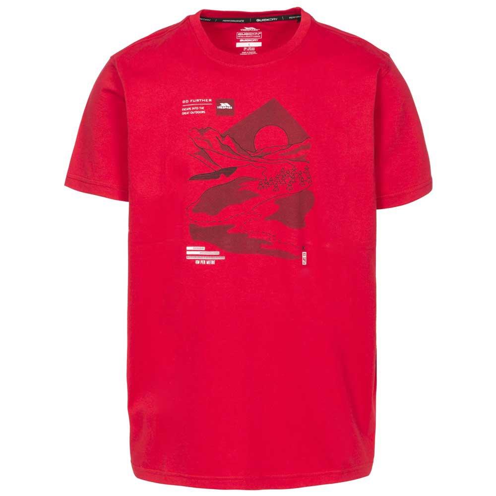 Maglietta da Uomo ad Asciugatura Rapida Trespass Wicky II Uomo