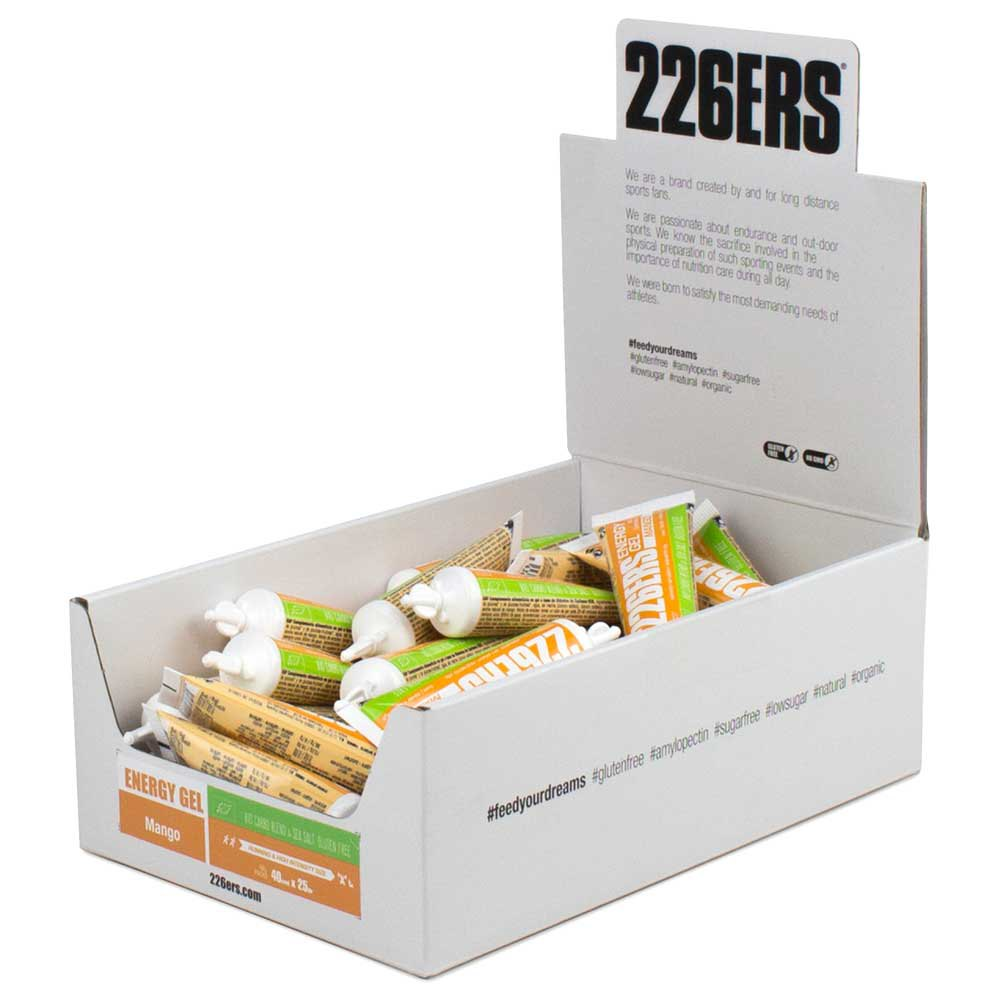 226ers Energy Gel Bio 25g 40 Units