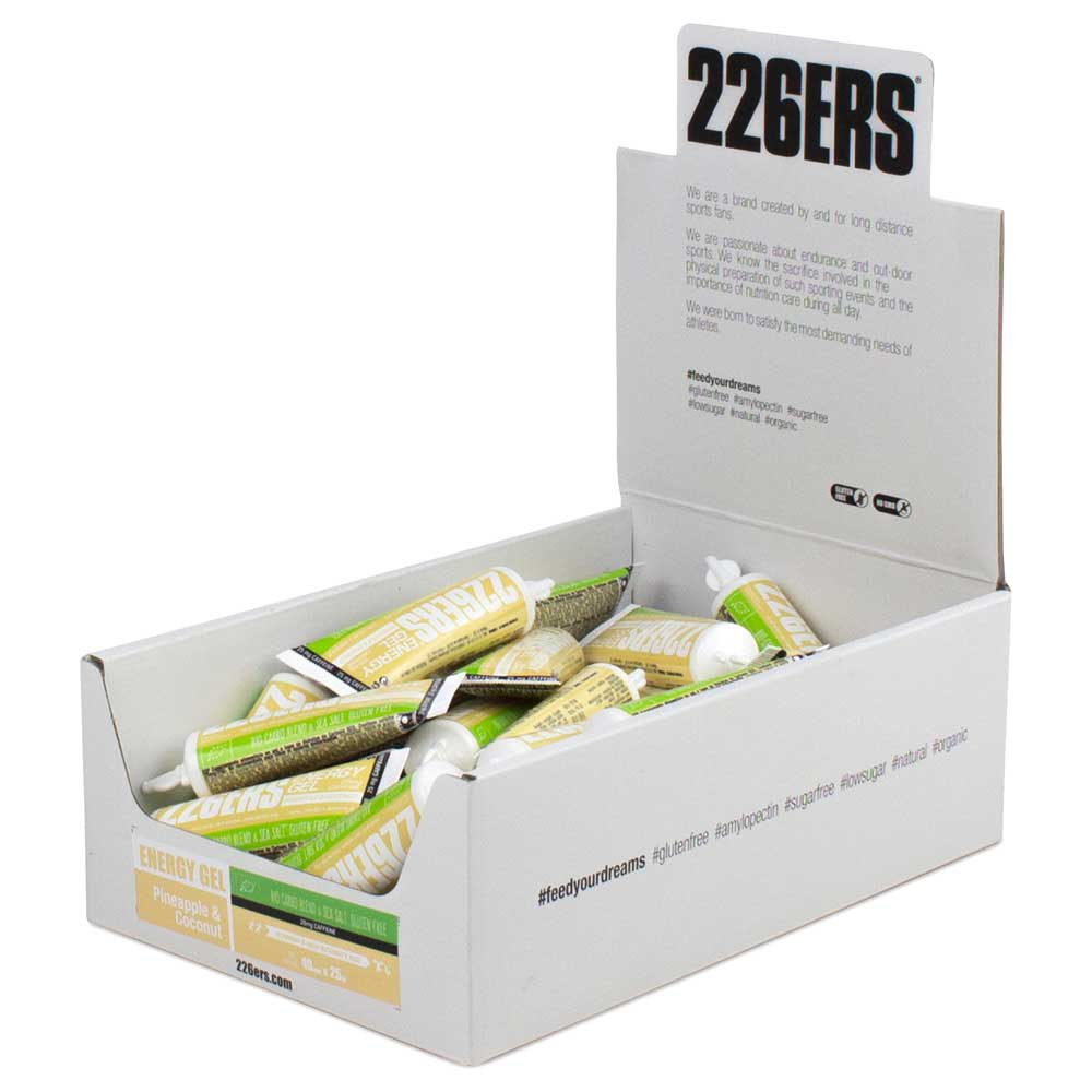 226ers Energy Gel Bio Caffeine 25g 40 Units