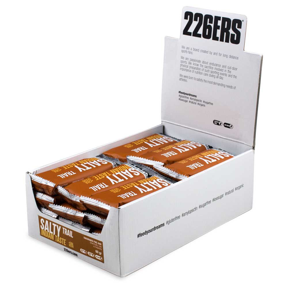 226ers Endurance Bar Salty Trail 60g 24 Units