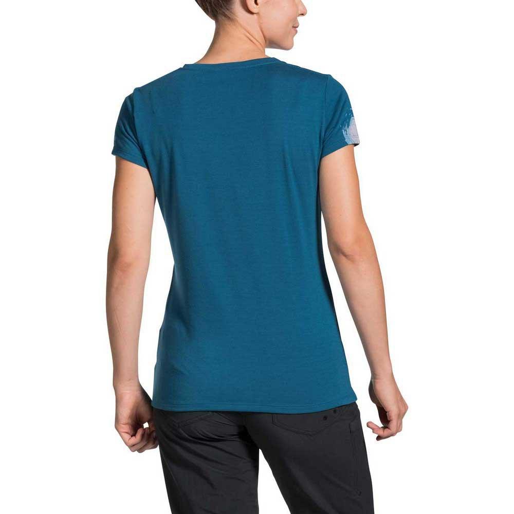 Vaude Essential Top Womens Function Shirt Blue