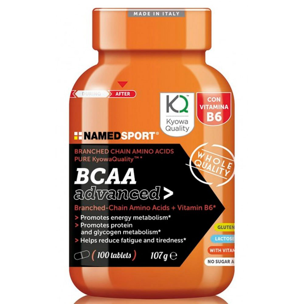 Named sport BCAA Advanced 100 Caps