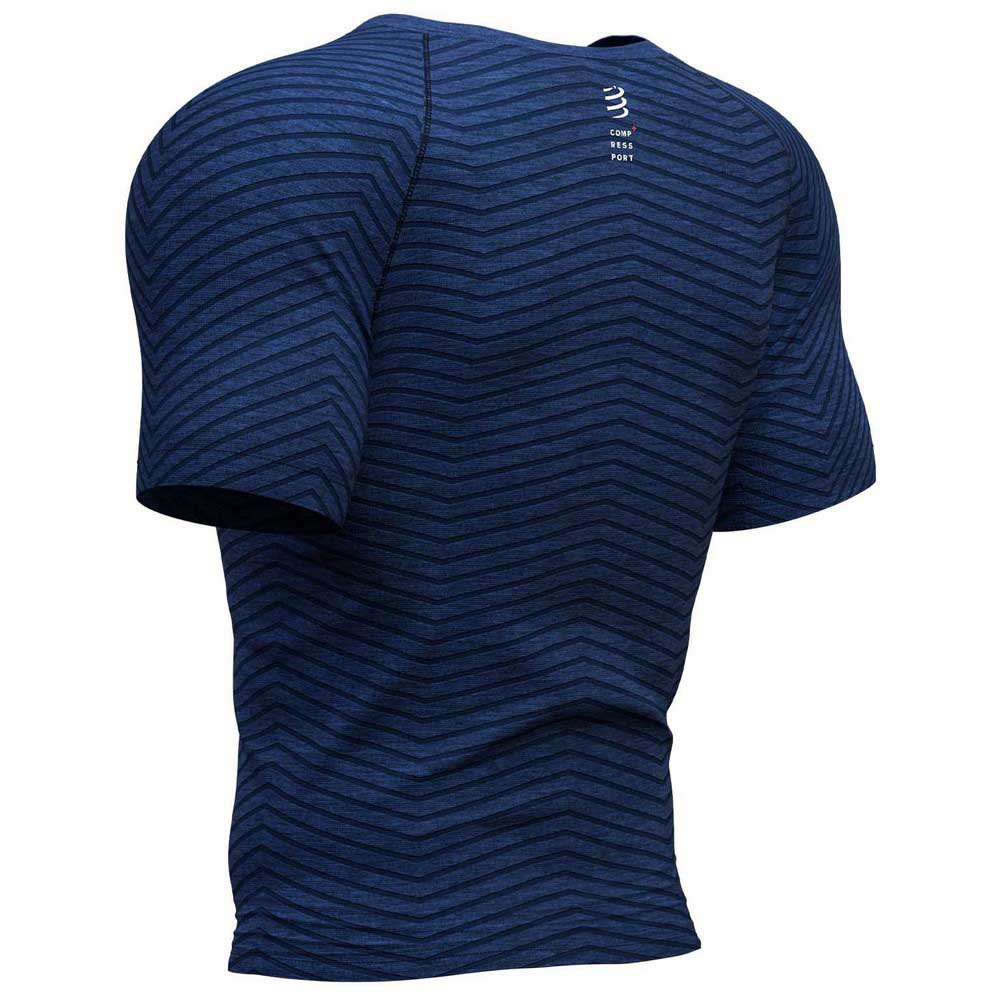 Icebreaker Tech Lite Whitecap Whale SS Crewe Top Men estate blue 2020 Shortsleeve Shirt