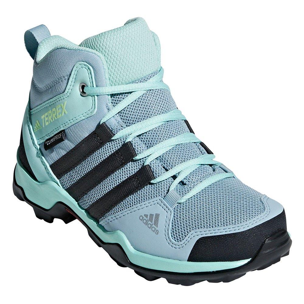 adidas Boys Terrex AX2R CP Walking Shoes Blue Sports Outdoors Breathable