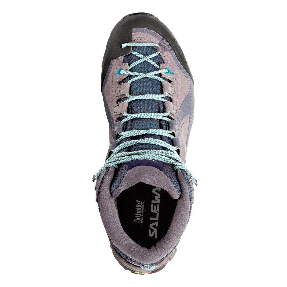 Salewa Alpenviolet Mid Goretex Gris Mujer Calzado Botas