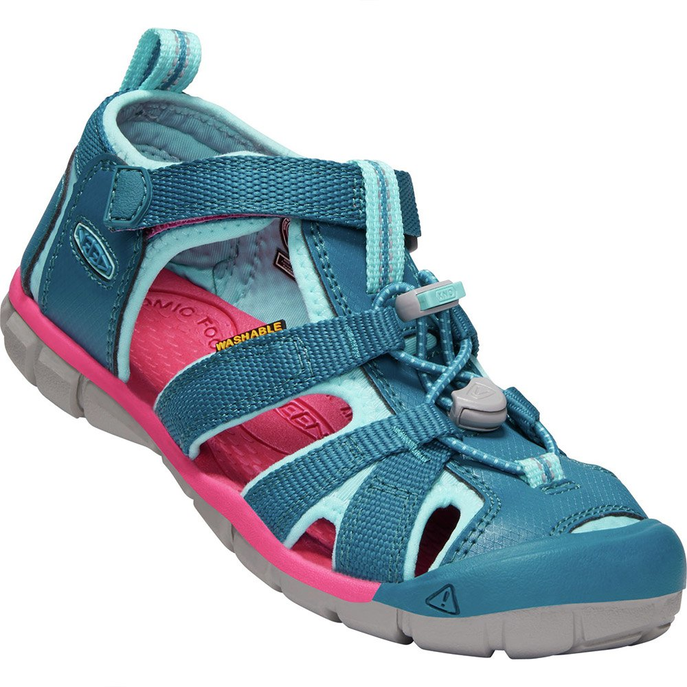 Kamik Crab Outdoor Sandals for Kids Blue Size 26-35 NEW