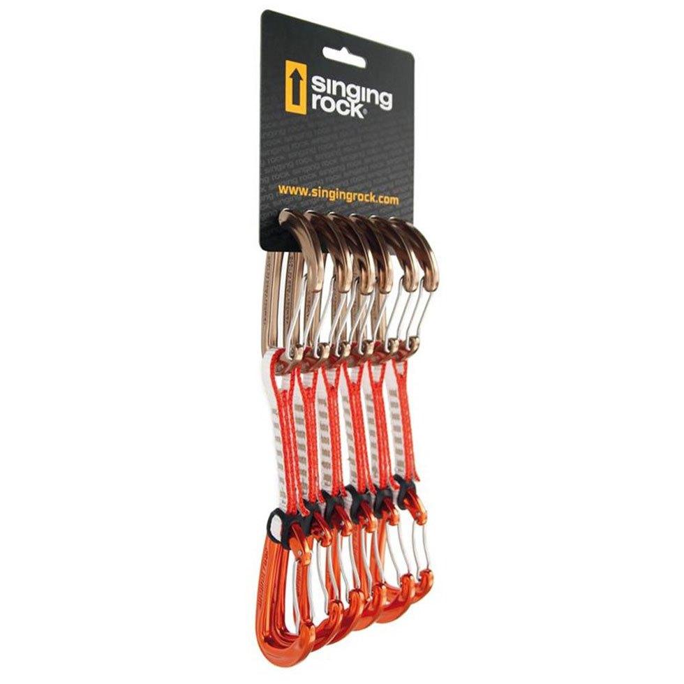 Black Diamond Pack 6 D/égaines Freewire Qd 12cm Orange