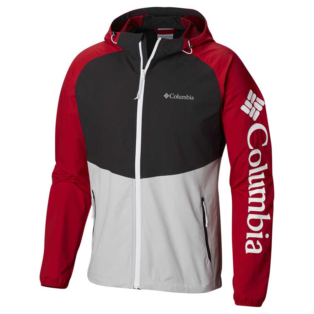 Columbia Panther Creek Schwarz Herrenkleidung Jacken