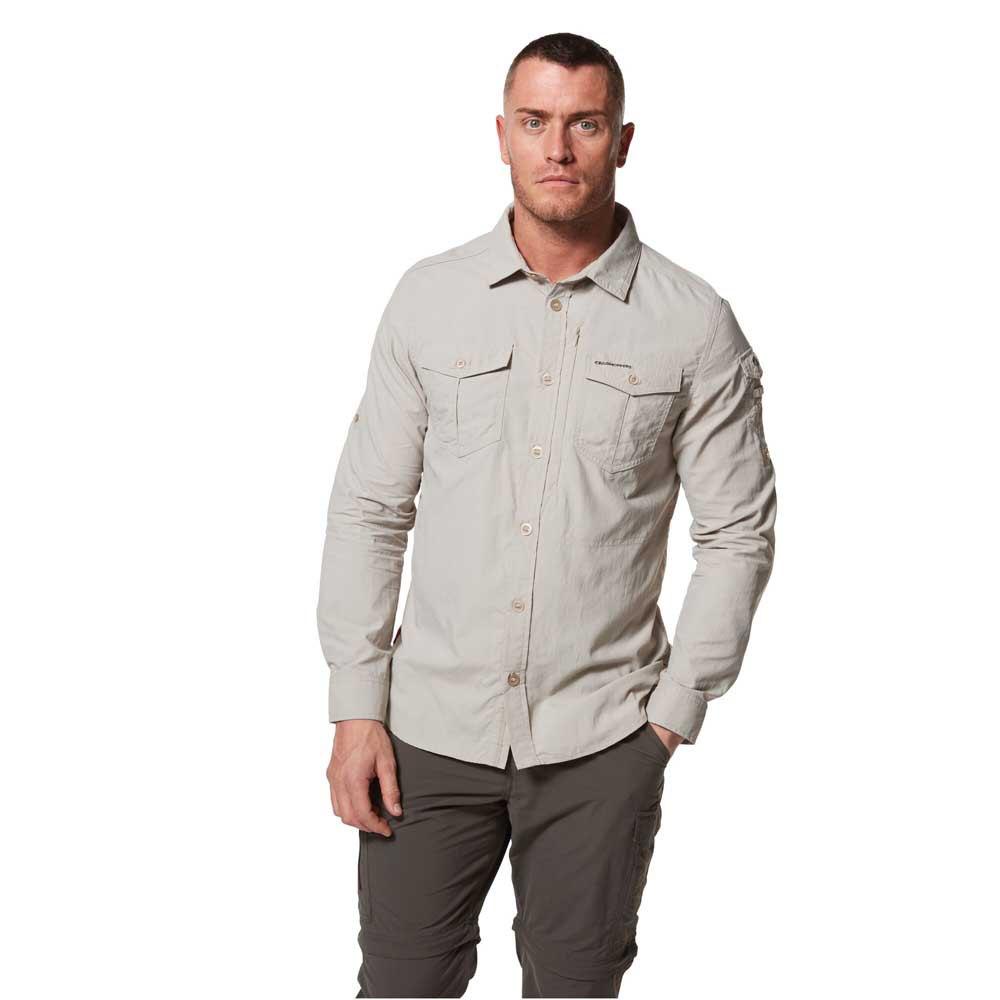 Craghoppers Mens Kiwi III Check Long Sleeved Shirt