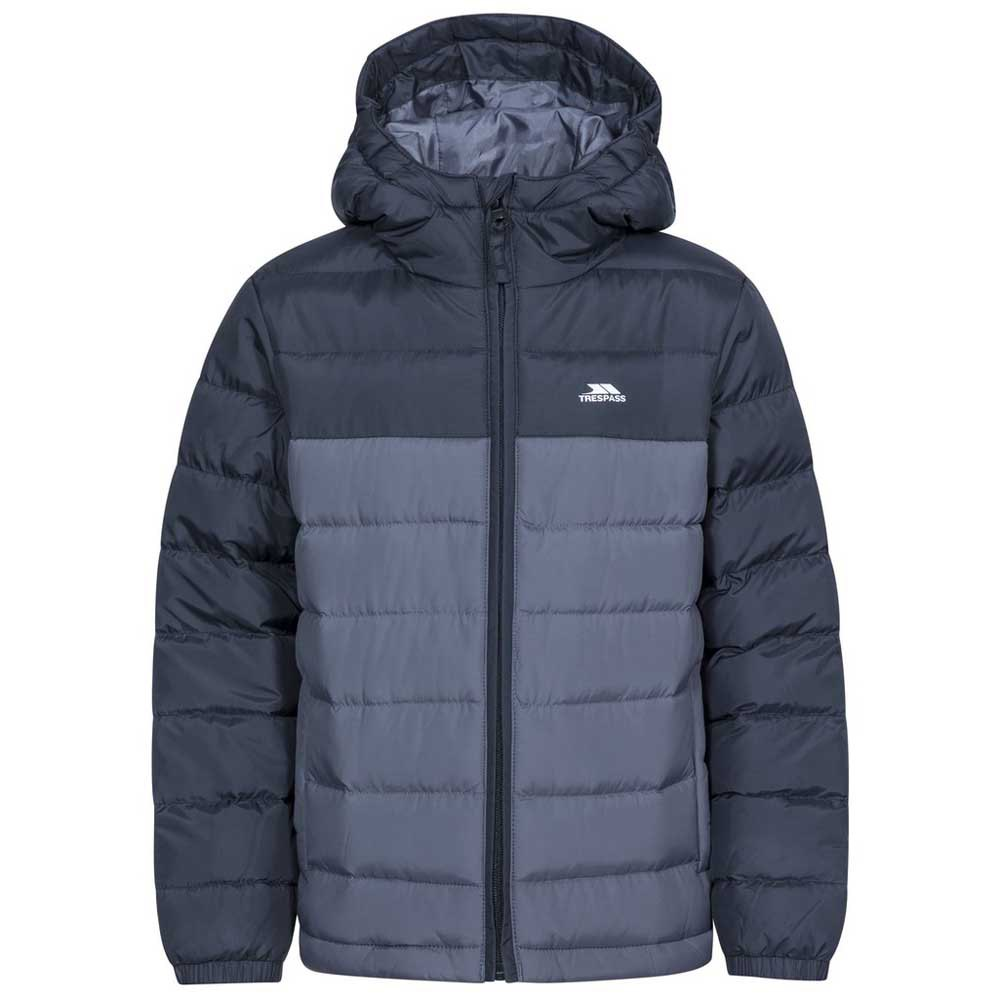 Trespass Oskar Boys Girls Padded School Jacket With Hood For Kids