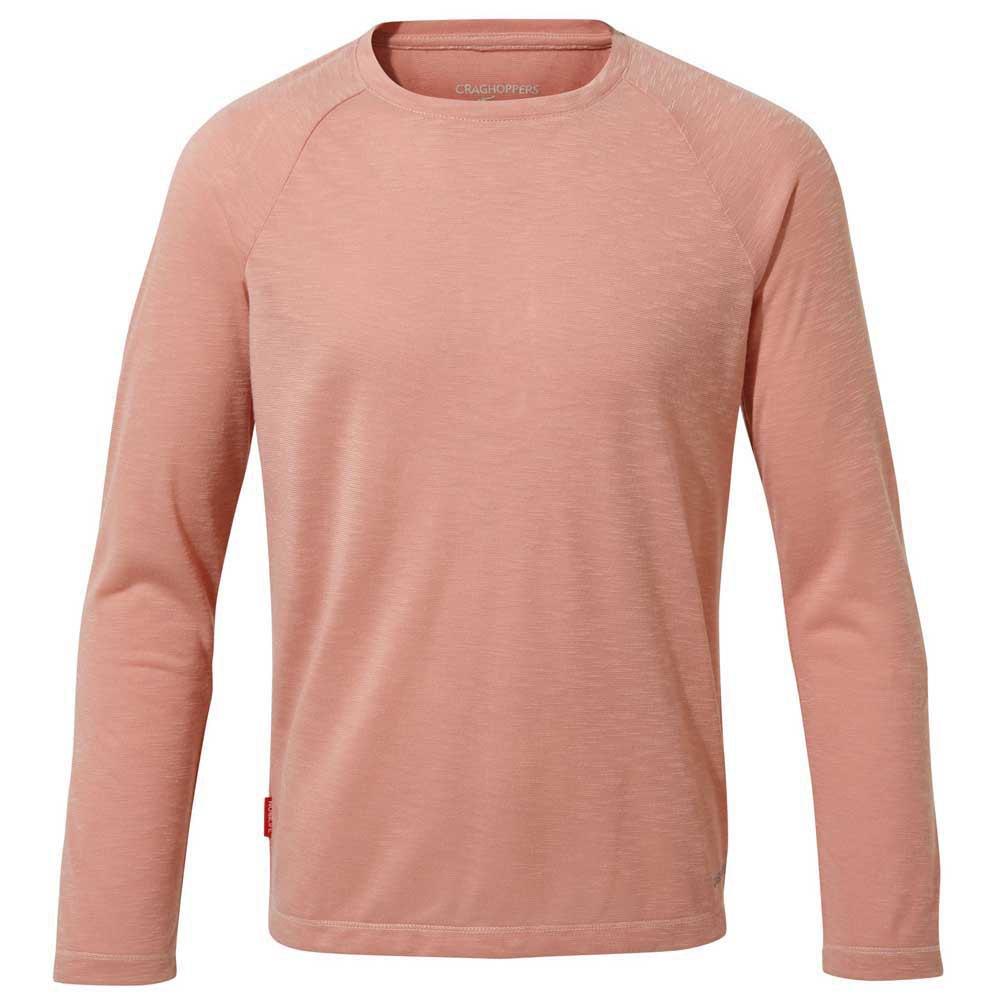 Vaude Fulmar Shirt Enfants T-shirt Pink
