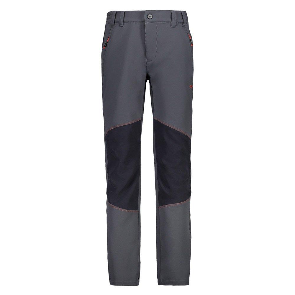 Pantalons Cmp Boy Long Pant 4 Années Graphite / Tango