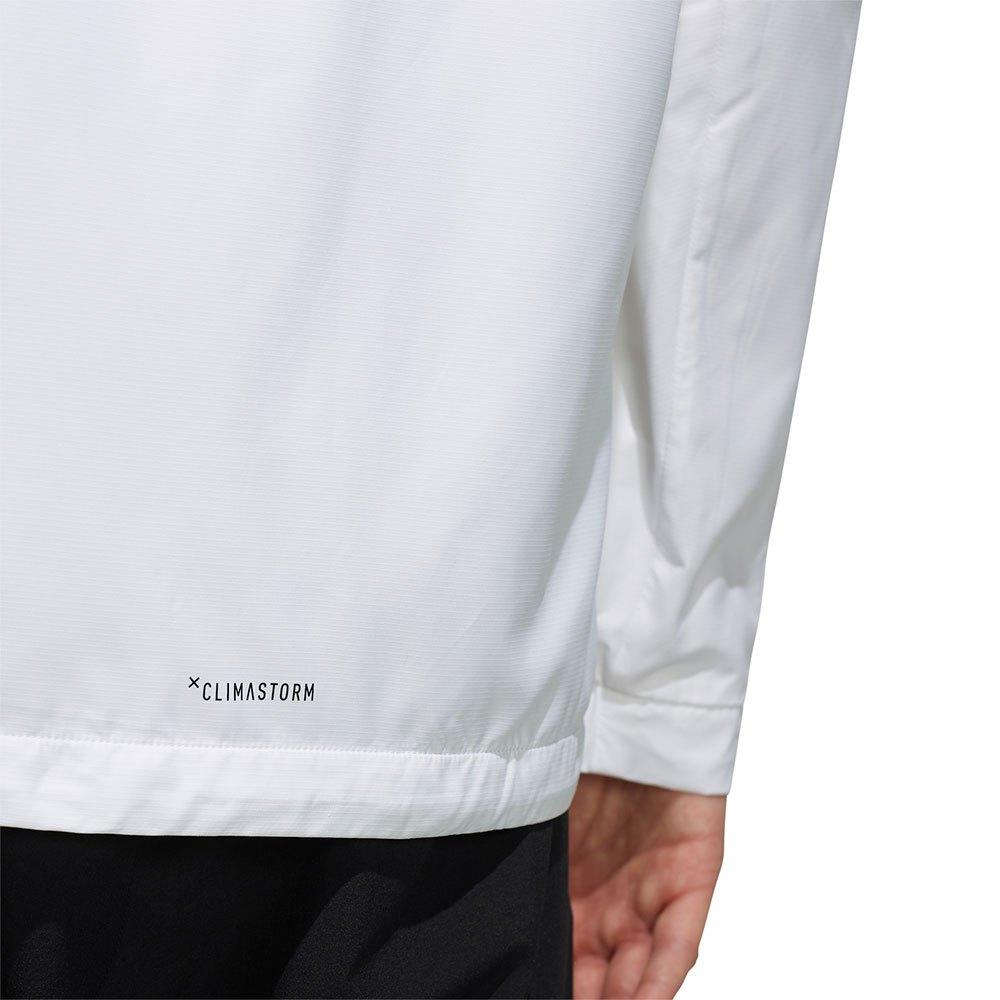 adidas 3 Stripes Windbreaker Ling Branco, Trekkinn Casacos