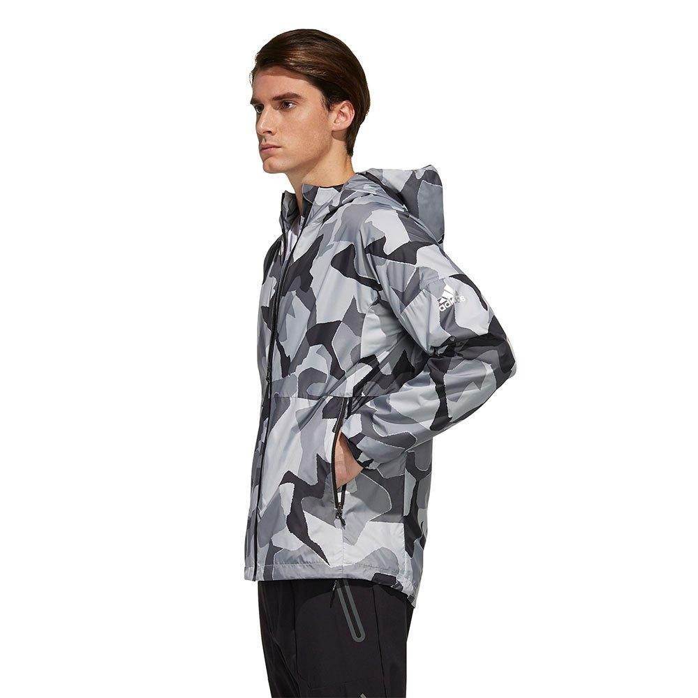 Adidas Camo Men's Windbreaker