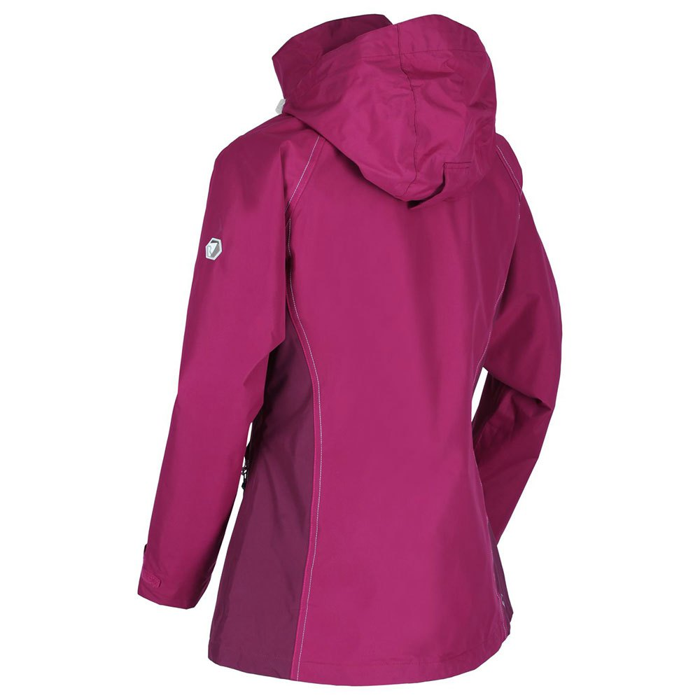 Regatta Womens Premilla Iii Waterproof Taped Seams Lined Jacket With Concealed Hood Jacket