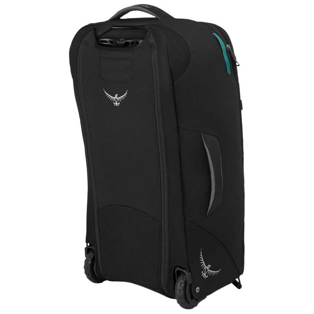 Bagages Osprey Fairview Wheels 65 One Size Black