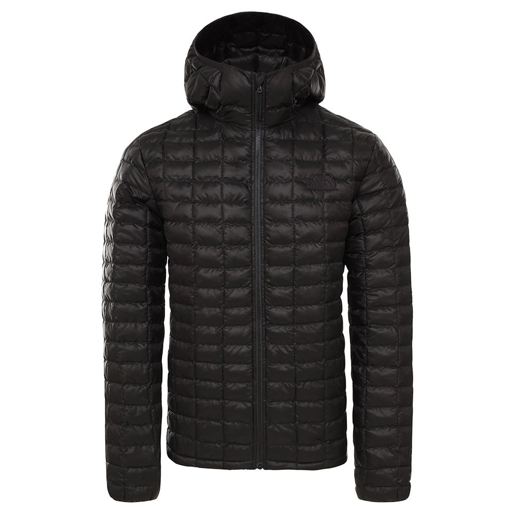 The North Face ThermoBall Eco Hoodie Jacket Herre TNF Black Matte