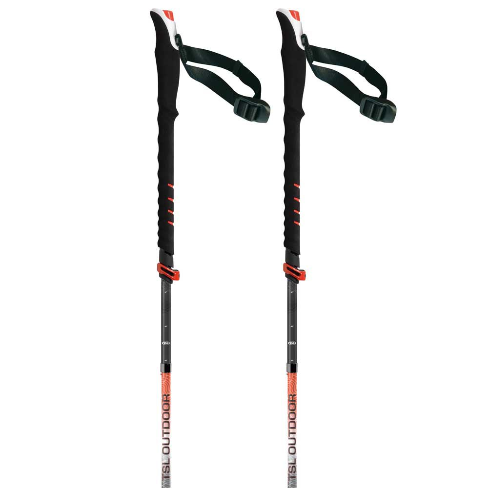 Tsl-outdoor Connect Carbon 5 Cross Wt Standard 110-130 cm Black / Red / White