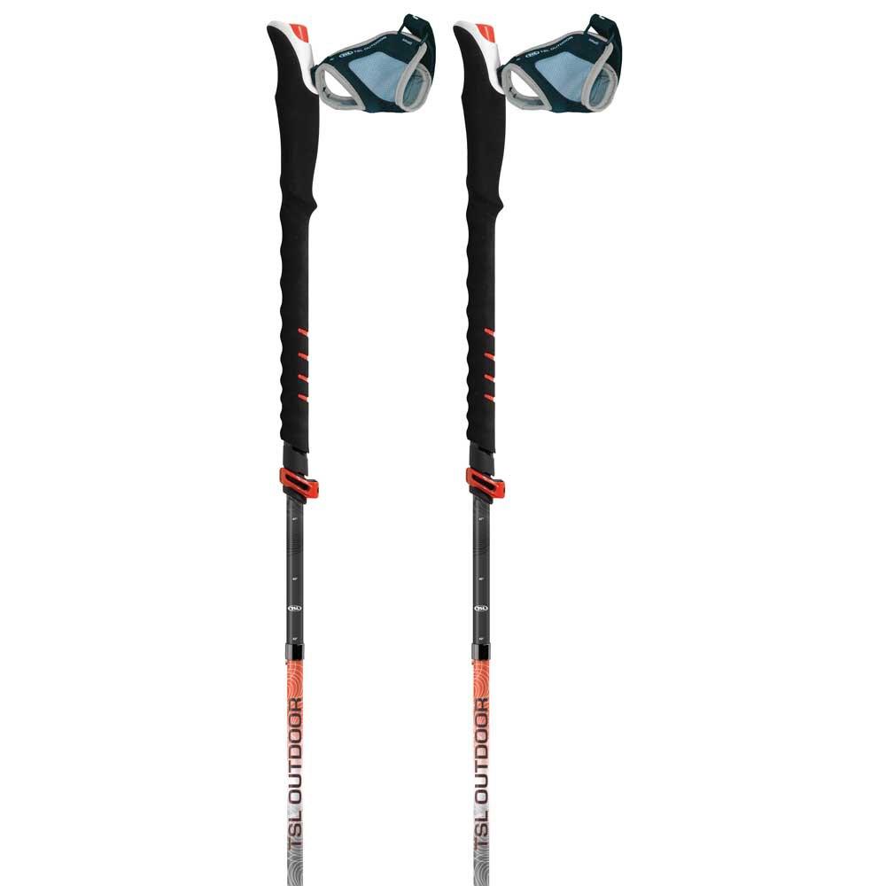 Tsl-outdoor Connect Carbon 5 Cross P&p 110-130 cm Black / Red / White