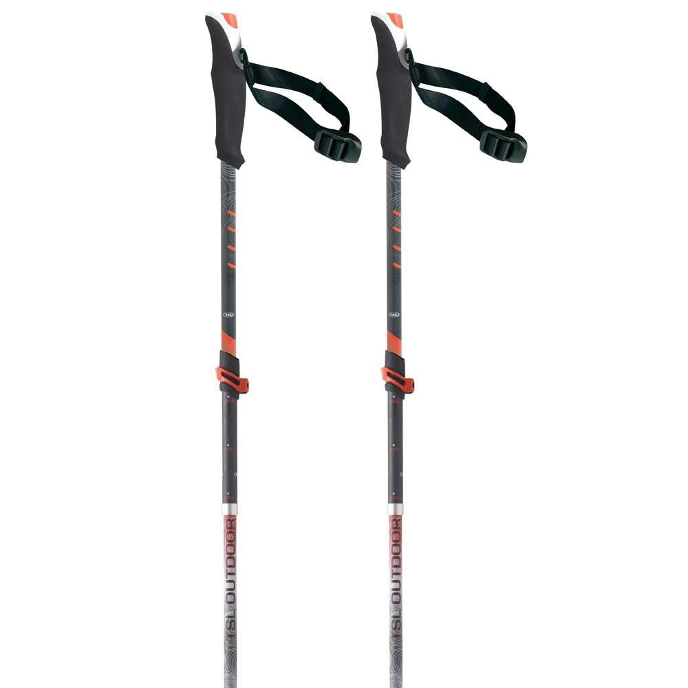Tsl-outdoor Connect Carbon 5 Light Wt Standard 110-130 cm Black / Red / White