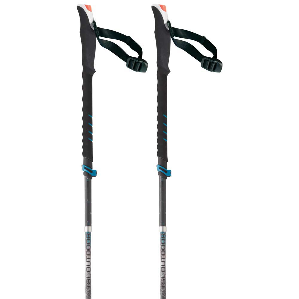 Tsl-outdoor Connect Alu 5 Cross Wt P&p 110-130 cm Black / Grey / White