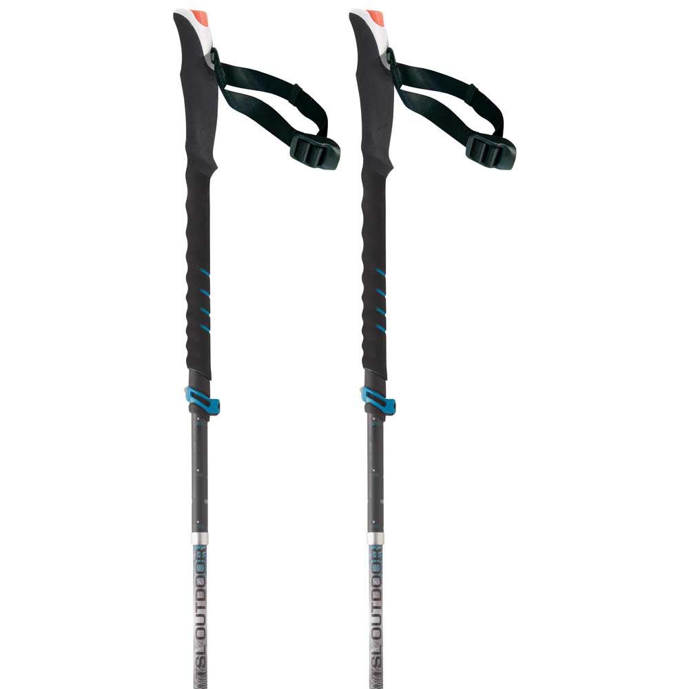 Tsl-outdoor Connect Alu 5 Cross Wt Standard 110-130 cm Black / Grey / White