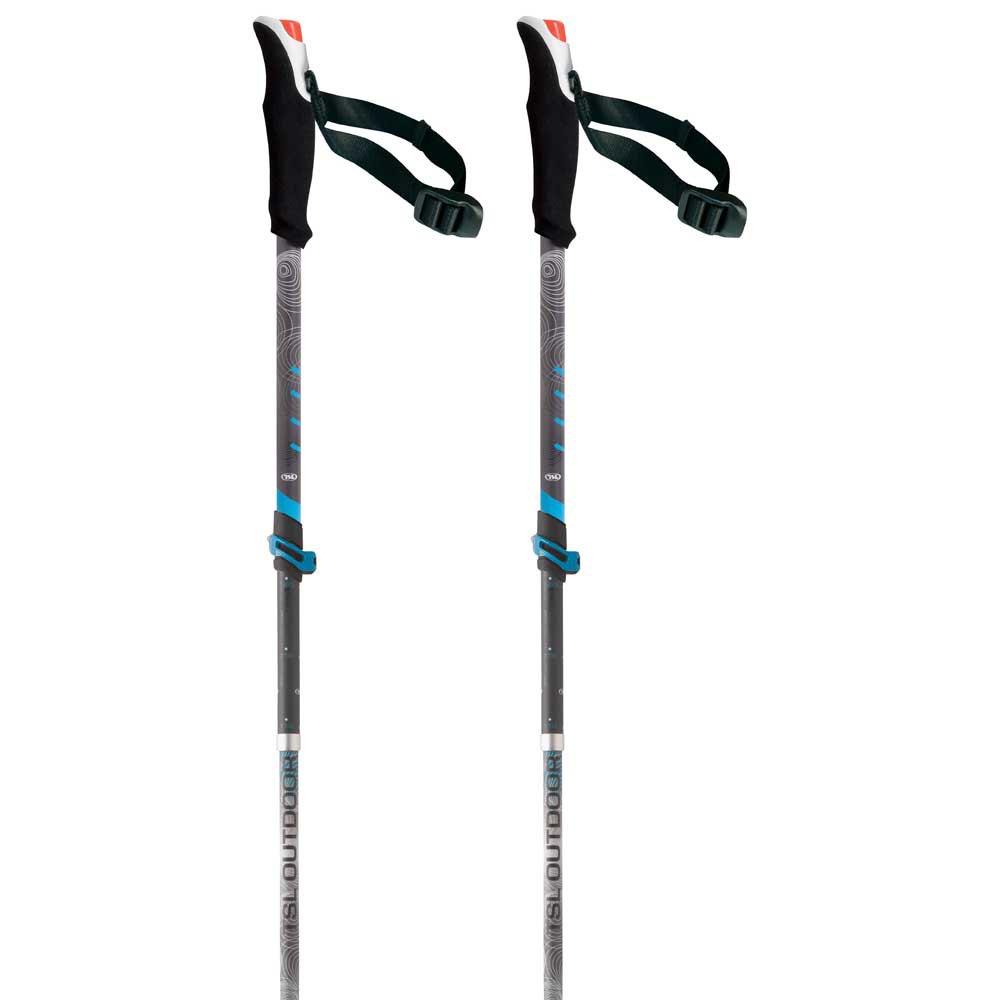 Tsl-outdoor Connect Alu 5 Light Wt Swing 110-130 cm Black / Grey / White