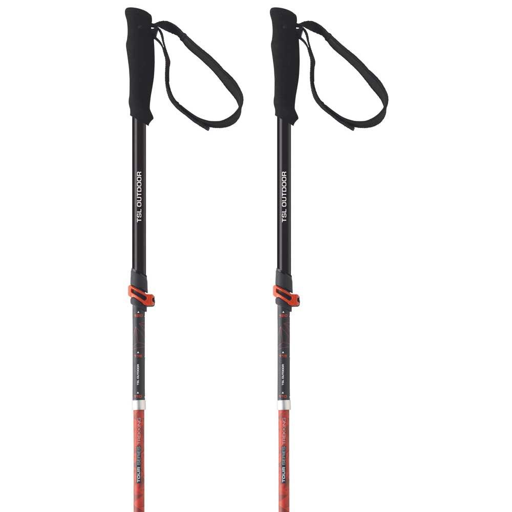 Tsl-outdoor Tour Carbon 5 Light Swing 110-130 cm Black / Red