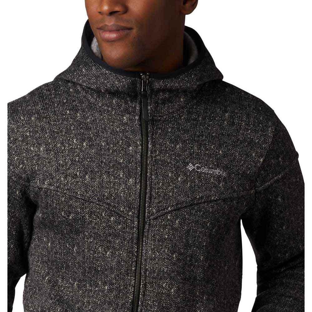 Columbia Mens Boubioz Hooded Full Zip Fleece