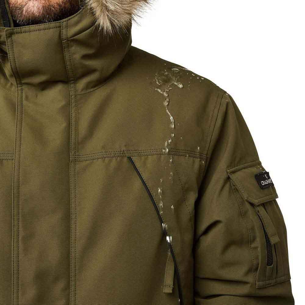 Craghoppers Mens Bishorn Waterproof Breathable Parka Jacket