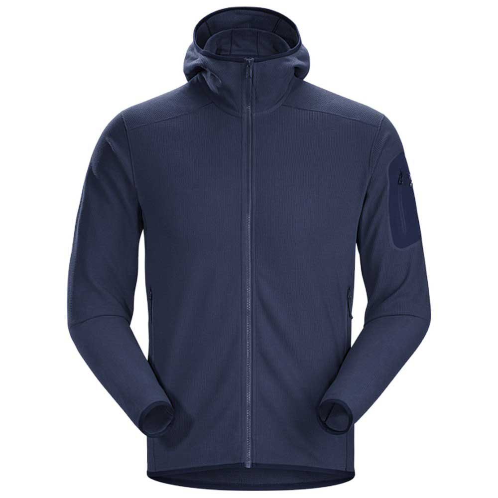 Patagonia Down Sweater Hoody Svart kjøp og tilbud, Trekkinn