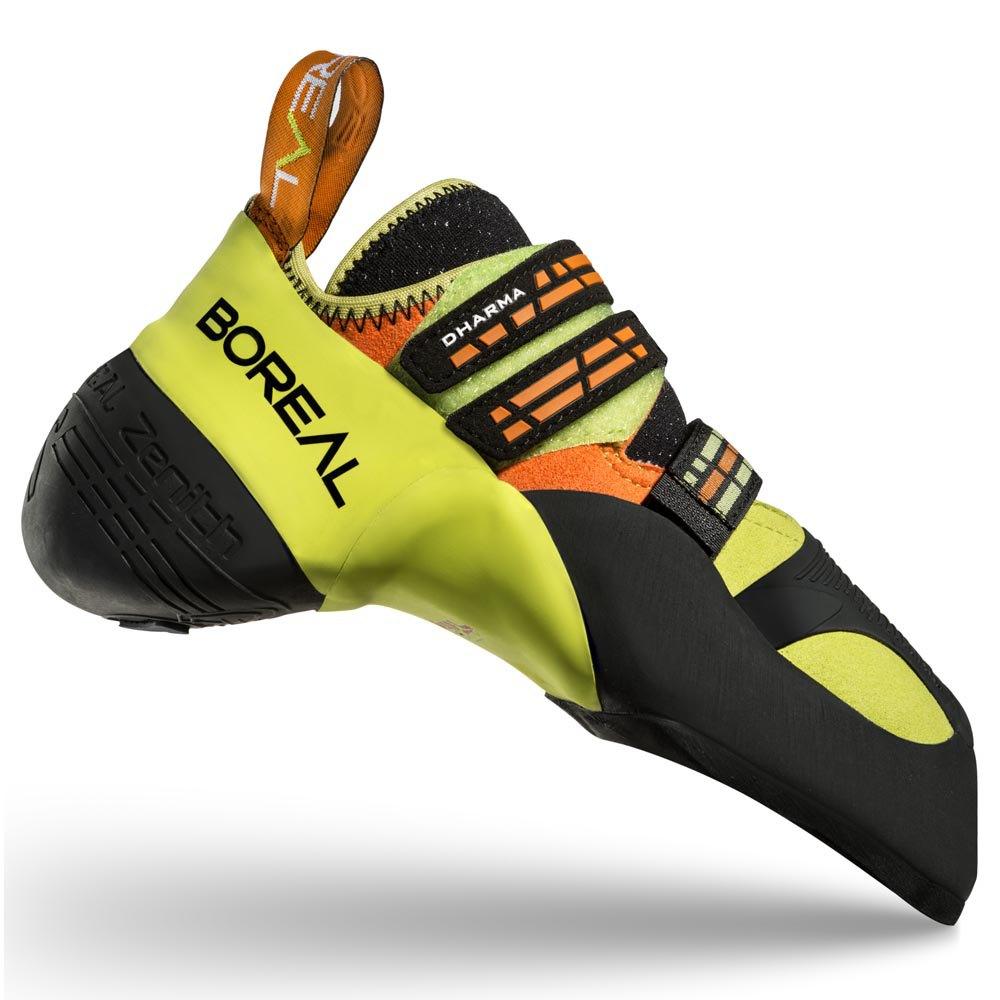 Boreal Silex Climbing Shoes Gentlemen Orange//Black