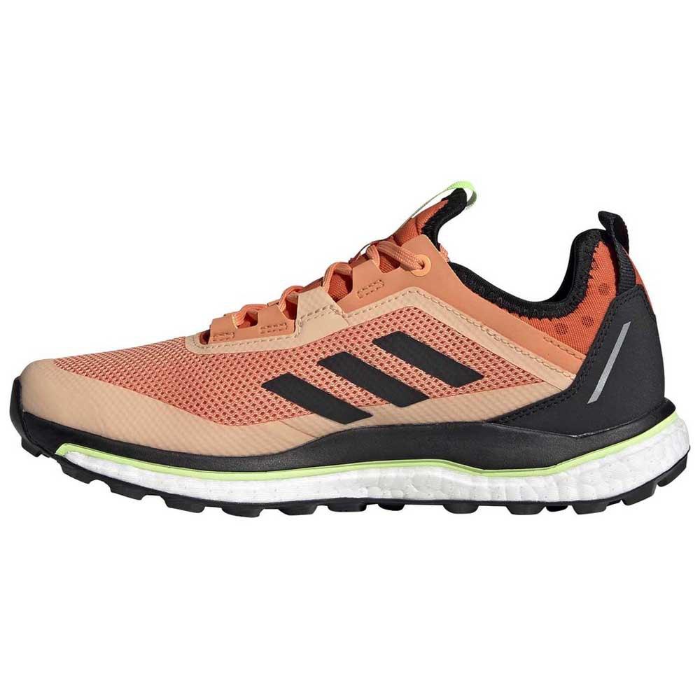adidas Terrex Agravic Flow Goretex Trail Running Shoes Orange ...